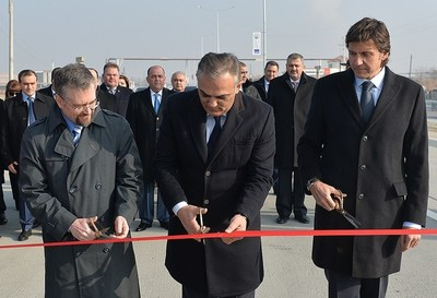 Opening Ceremony of Two New Road Sections in Armenia, Built by Isolux Corsan (PRNewsFoto/Isolux Corsan) (PRNewsFoto/Isolux Corsan)