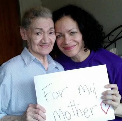 Mother Carmina Alers and her daughter Yassmin.