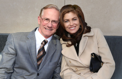 Gil Martin founder of Martin Furniture and Kathy Ireland of kathy ireland Worldwide extend partnership to 2018.  (PRNewsFoto/Martin Home Furnishings)