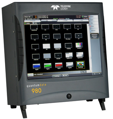 Teledyne LeCroy's quantumdata(TM) 980 Protocol Analyzer Approved by DCP for HDMI-HDCP 2.2 Compliance Testing