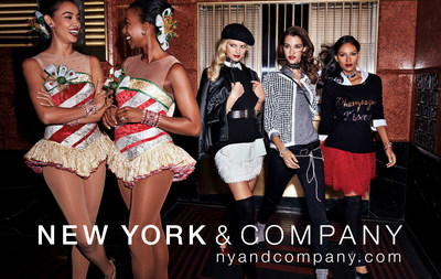 For the first time ever, New York & Company is an Official Partner of the Christmas Spectacular Starring the Radio City Rockettes
