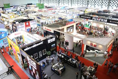 P&I SHANGHAI 2014 has attracted well-known brands such as CANON, NIKON, SONY, FUJIFILM, EPSON, TOSHIBA, etc. (PRNewsFoto/Shanghai Int'l Exhibition)