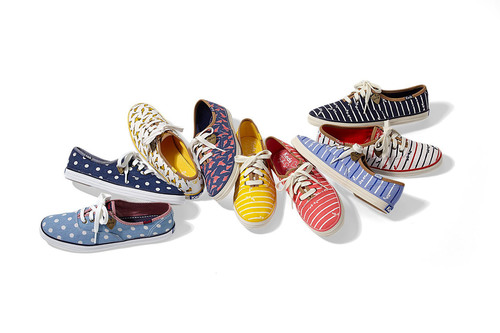 """Selection of styles from the new Taylor Swift for Keds(R) collection."" Photo courtesy of Keds(R).  (PRNewsFoto/Keds)"