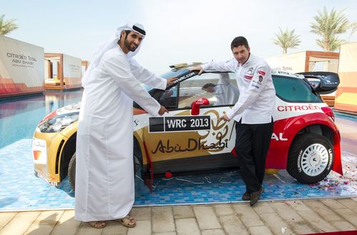 Going Global - Sheikh Khalid Al Qassimi and co-driver Scott Martin will compete in eight WRC rounds in 2013