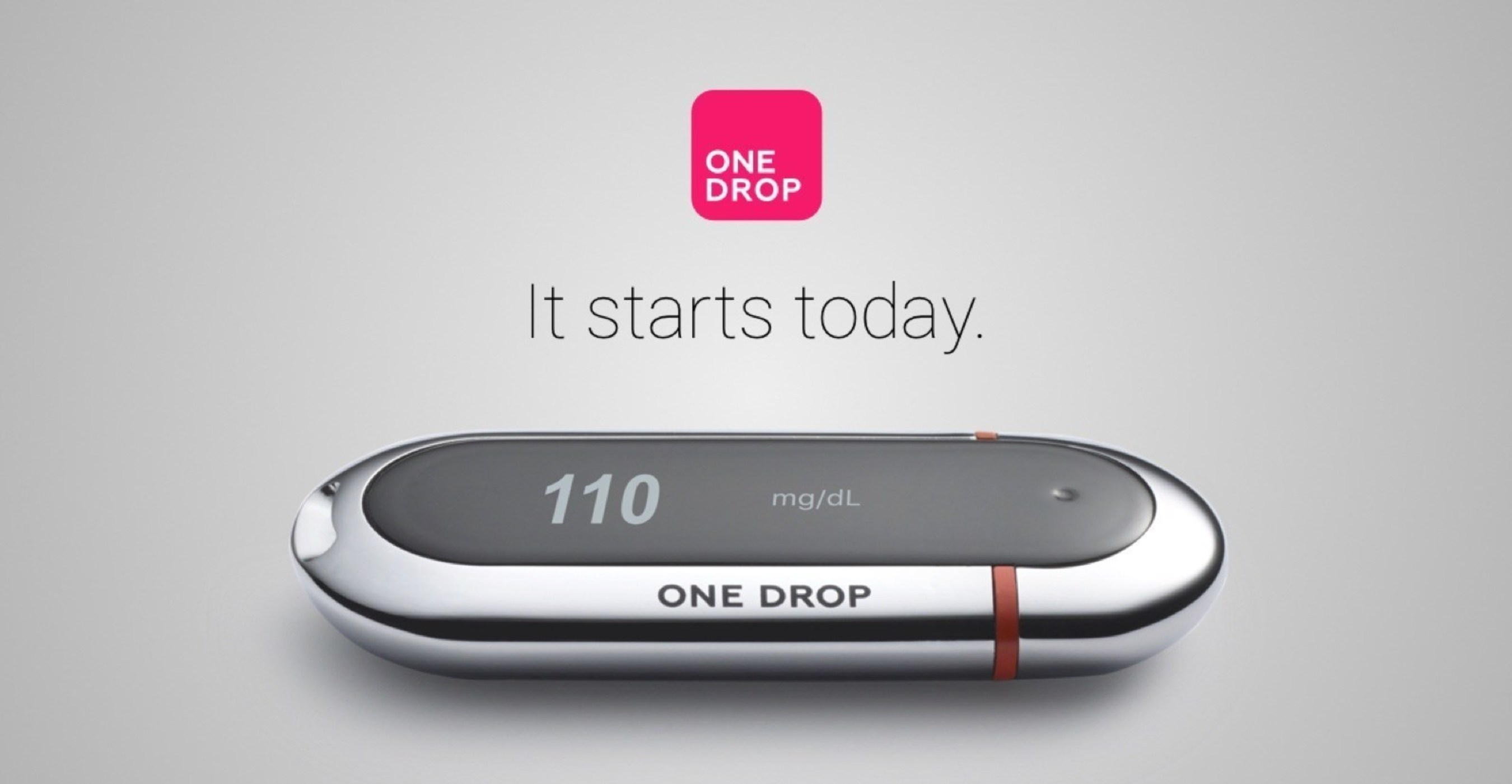 The One Drop | Chrome Blood Glucose Monitor