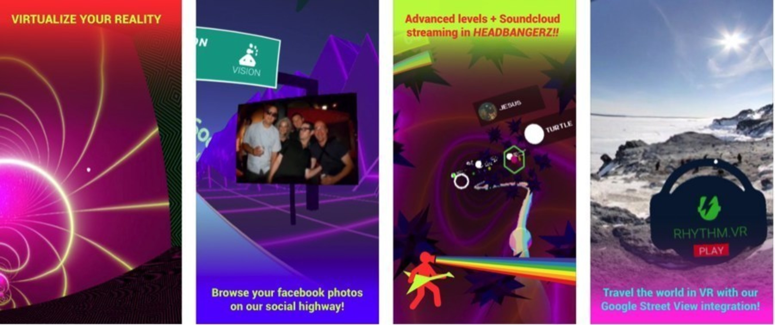 Mobile Virtual Reality App Spaceout.VR gets a radical update