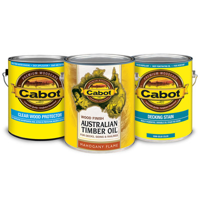 Cabot Exterior Woodcare Line Rolls Out to Ace Hardware Stores Nationwide