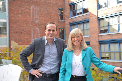Publicis North America debuts as new mega region, with Andrew Bruce (left) named as CEO and Susan Gianinno ...