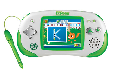 Leapster Explorer.  (PRNewsFoto/LeapFrog Enterprises, Inc.)