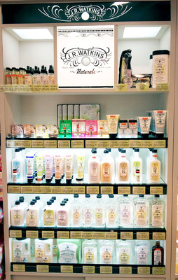 J.R. Watkins Naturals will sell natural and organic personal care and home care products in Hong Kong, Japan and Taiwan.  (PRNewsFoto/J.R. Watkins Naturals)