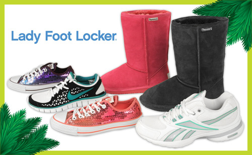 Lady Foot Locker Makes Feel-Good Wishes Come True with Fun Fashionable Footwear
