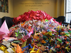 Kids Challenged to Make 100,000 Origami Paper Cranes, Idea Goes Viral & One Million Cranes Arrive