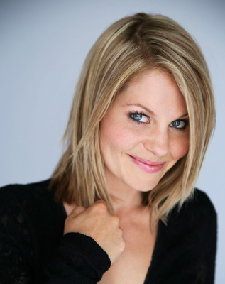 """Candace Cameron Bure and her furry pet to star in celebrity paw-stume segment on """"Hub Network's First Annual Halloween Bash,"""" Oct. 26. (PRNewsFoto/The Hub Network) (PRNewsFoto/THE HUB NETWORK)"""