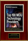 "Mesh Networks Selected For ""Top 100 MDU Technology Providers"".  (PRNewsFoto/Mesh Networks)"