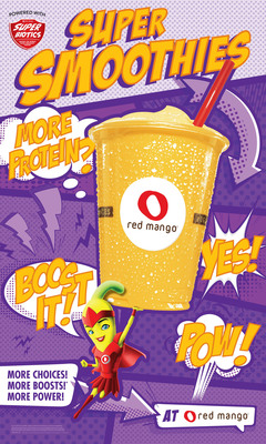 Red Mango introduces new SuperBiotic Smoothies.