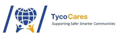 "Tyco launches its renewed global corporate social responsibility initiative with a new brand, ""Tyco Cares"" (PRNewsFoto/Tyco)"