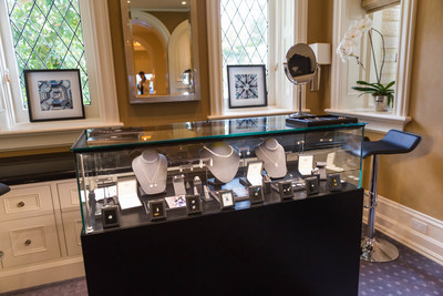 Ada Diamonds' cultured diamond jewelry showcased at the Rolls-Royce Motor Cars Pebble Beach Villa