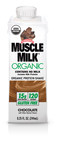 Muscle Milk Organic is now available exclusively at Target stores nationwide and Target.com. As the first certified organic product from the Muscle Milk brand, it's packed with 15 grams of organic protein and sweetened with organic cane sugar and organic stevia.  Pick up a 4-pack today for $8.99. (PRNewsFoto/CytoSport)