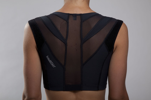 IntelliSkin Introduces First-Ever Posture Sports Bra.   (PRNewsFoto/IntelliSkin)