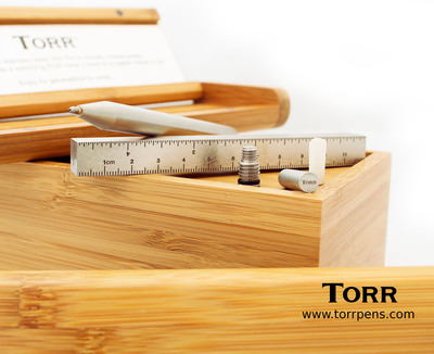 Torr Classic, by Torr Pen Company, a stainless steel pen and ultimate gift for the everyday man.  (PRNewsFoto/Torr Pen Company)