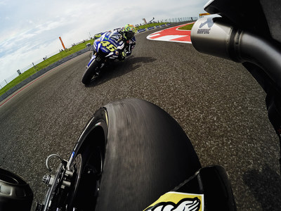 Valentino Rossi joins GoPro family.