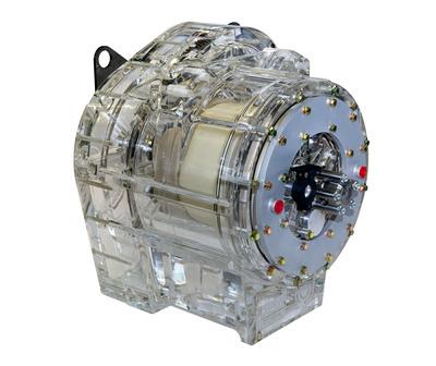 Ricardo TorqStor flywheel energy storage.  (PRNewsFoto/Ricardo PLC)