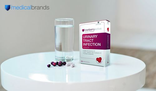 The first registered class IIb Self-Care Medical Device in EU to prevent urinary tract infections. Medical Brands has obtained a Class IIb status for this Uninary Tract Infections Self-Care Medical Device. As a registered Class IIb Medical Device, Cranberry-Active™ is the only cranberry-based product in the European Economic Area and recognized countries that can be freely marketed with a medical claim for treating and preventing urinary tract infections. The product is clinically proven, doesn't burden your body, works on the spot and can be used on daily basis. (PRNewsFoto/Medical Brands)