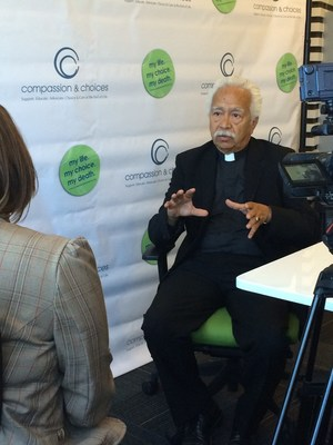 Rev. Dr. Ignacio Castuera, Compassion & Choices Board Member (PRNewsFoto/Compassion & Choices)