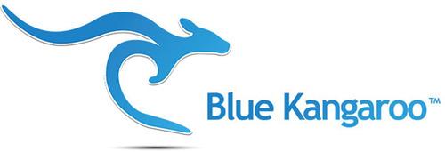 Blue Kangaroo logo. (PRNewsFoto/Blue Kangaroo) (PRNewsFoto/BLUE KANGAROO)