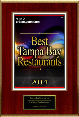 "Tampa Bay Brewing Co. Selected For ""Best Tampa Bay Restaurants"""