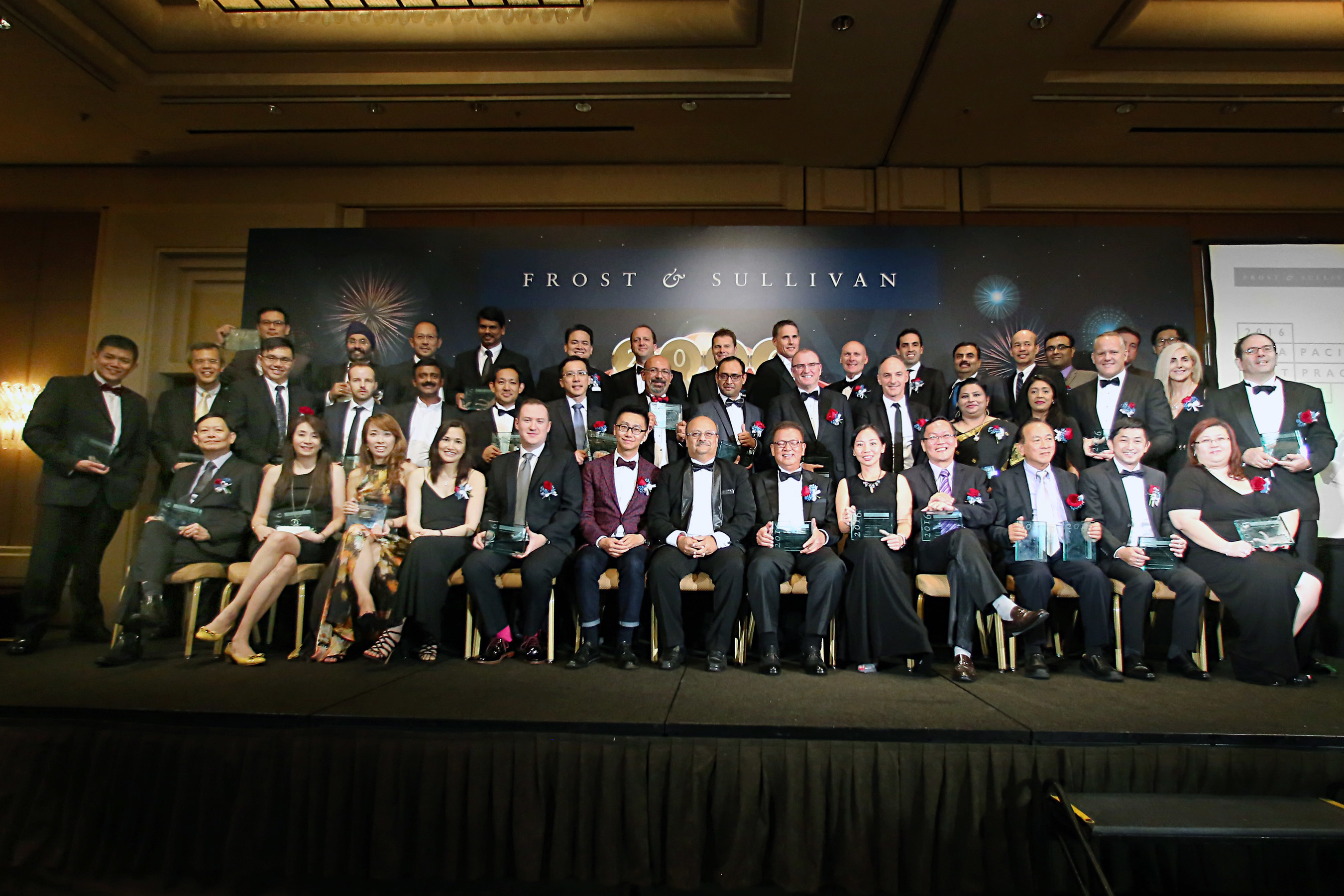 Award recipients of the 2016 Frost & Sullivan Asia Pacific Best Practices Awards