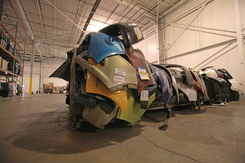 About 120 million pounds of damaged vehicle parts have been processed through the Ford Core Recovery Program ...