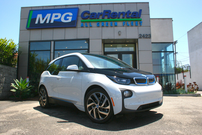 MPG Car Rental first to rent BMW i3 in Venice, CA. (PRNewsFoto/MPG Car Rental)