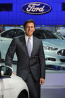 Mark Fields, chief operating officer of Ford Motor Company, will deliver the keynote address at the Newsmaker Breakfast on Wednesday, Jan. 22, 2014.  (PRNewsFoto/The Washington Auto Show)