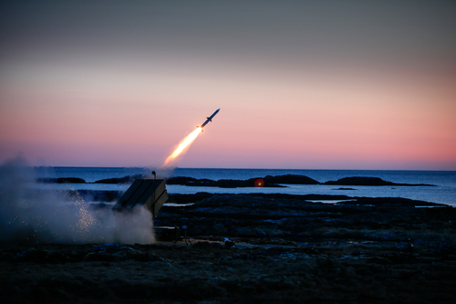The success rate of NASAMS' extensive tests and tactical live fire programs has been over 90% against a variety of targets and profiles in challenging scenarios. (PRNewsFoto/Raytheon Company)