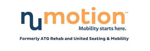 ATG Rehab and United Seating & Mobility have come together to form one dynamic company: Numotion. With a strong local focus, locations in 41 states and assignments from most insurance companies, we aim to be the most responsive and innovative provider of custom wheelchairs to do business with.  Visit www.Numotion.com.  (PRNewsFoto/Numotion)