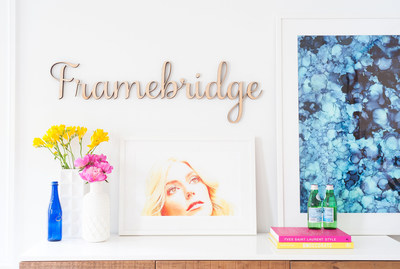 framebridge is a washington dc startup that makes custom framing easy and affordable