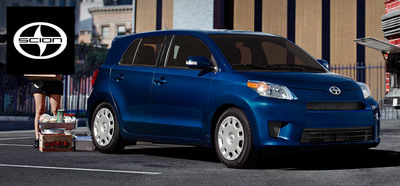 The Scion xD has more cargo space and more available horsepower than the 2014 Mazda2 with a minimal drop off in fuel-economy. (PRNewsFoto/Scion of Naperville)