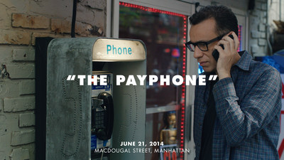 "Fred Armisen partners with Heineken on new social experiment, ""The Payphone,"" for Heineken's Cities of the World campaign. (PRNewsFoto/HEINEKEN USA Inc.)"