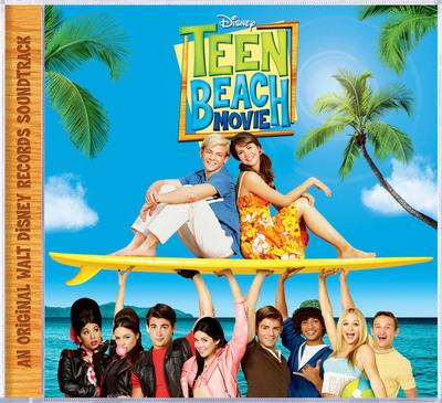 TEEN BEACH MOVIE SOUNDTRACK COVER.  (PRNewsFoto/Walt Disney Records)