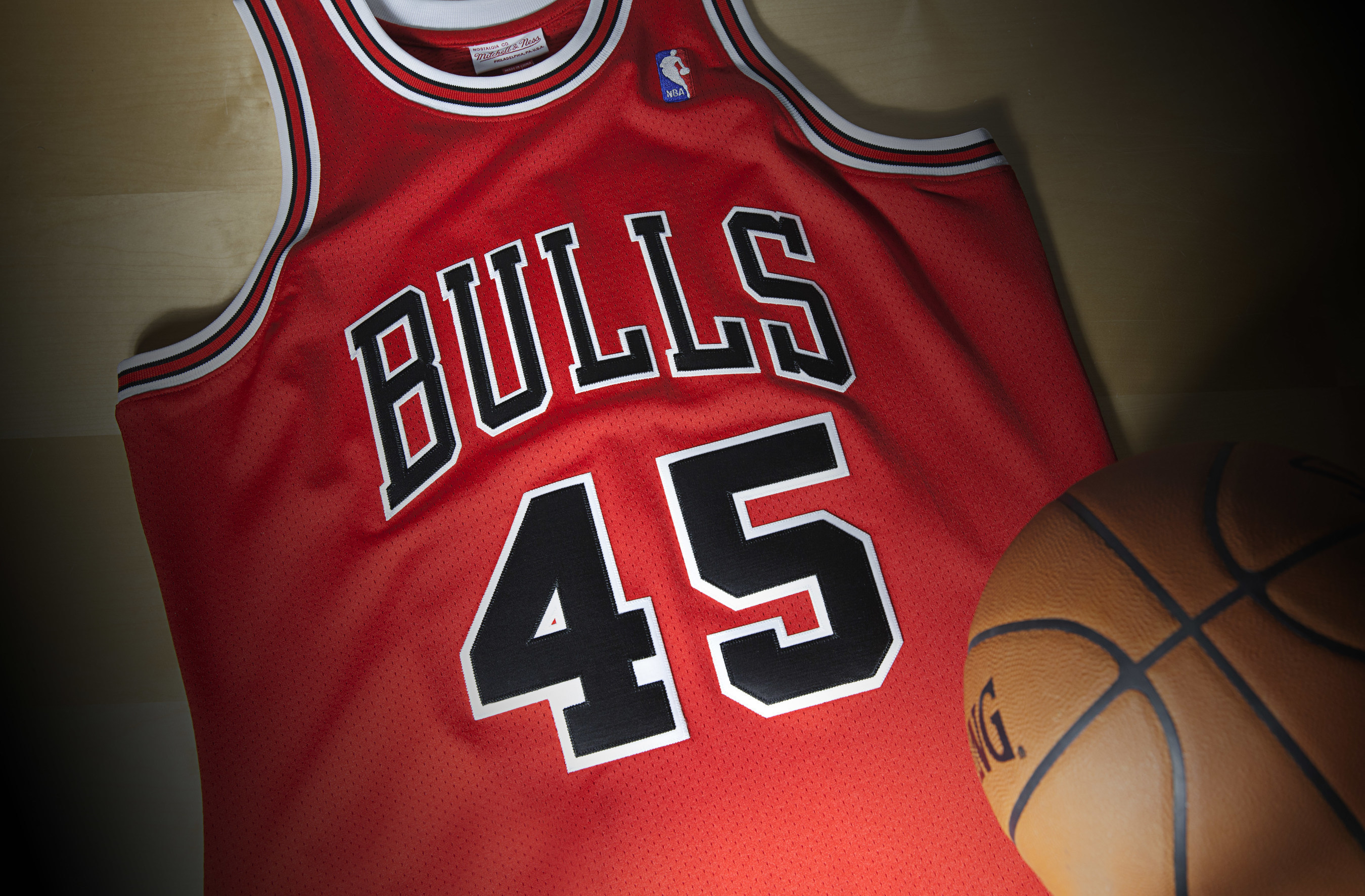 9c4432f3 Mitchell & Ness Releases Limited Edition 1994 - 95 Michael Jordan ...