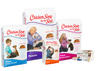 Chicken Soup for the Soul Pet Food Launches Dynamic New Packaging Featuring Rescued Pets and New Small Bites