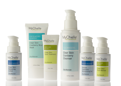 New this fall, MyChelle Dermaceuticals has developed Clear Skin collection, featuring its patented NatureClear Complex(TM), to effectively target oily and blemish-prone skin without the use of toxic chemicals. Suitable for all ages and varying skin types, the Clear Skin range includes 6 gentle product formulations including a cleanser, mask, pore refiner, two moisturizers, and a spot treatment. Learn more at www.mychelle.com
