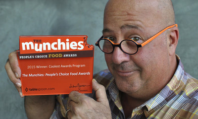 Bizarre Foods Host Andrew Zimmern and panel of 43 celebrity tastemakers team up with General Mills for the fourth year of The Munchies: People's Choice Food Awards to honor 100 of the top food experiences in America.