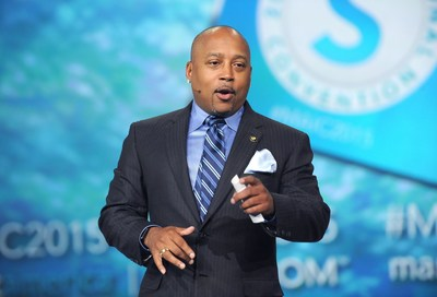Shark Tank and Entrepreneur Daymond John inspires entrepreneurs at the Market America | SHOP.COM International Convention