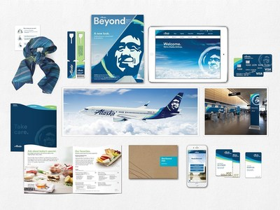 The refreshed brand will be featured throughout the airport experience, on all digital channels, in marketing materials and across Alaska's entire fleet.