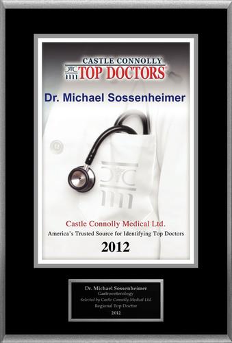 Dr. Michael Sossenheimer of Utah Gastroenterology is recognized by Castle Connolly as one of the Regional Top Doctors in Gastroenterology.  (PRNewsFoto/American Registry)