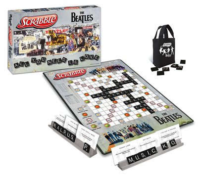SCRABBLE: Beatles edition