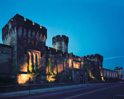 Located inside the massive castle-like walls of Eastern State Penitentiary, a real abandoned prison in Philadelphia, PA, Terror Behind the Walls is consistently ranked among the top 10 haunted attractions in the country. In 2012, Terror Behind the Walls runs on select evenings from September 21 through November 10. Visit easternstate.org for tickets and information.