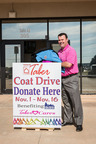 Homes by Taber Collects 709 Coats for OKC's City Rescue Mission